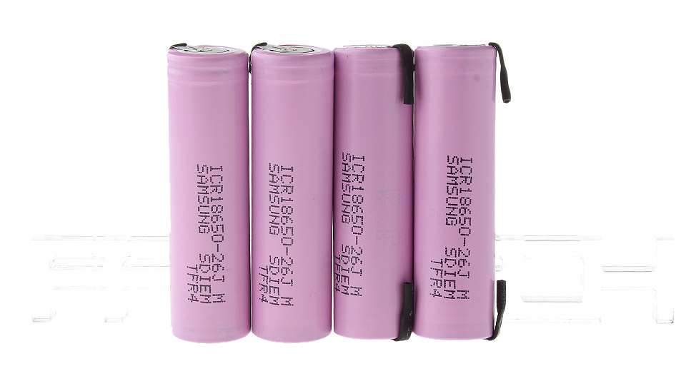 Product Image: authentic-samsung-icr-18650-26j-3-7v-2600mah