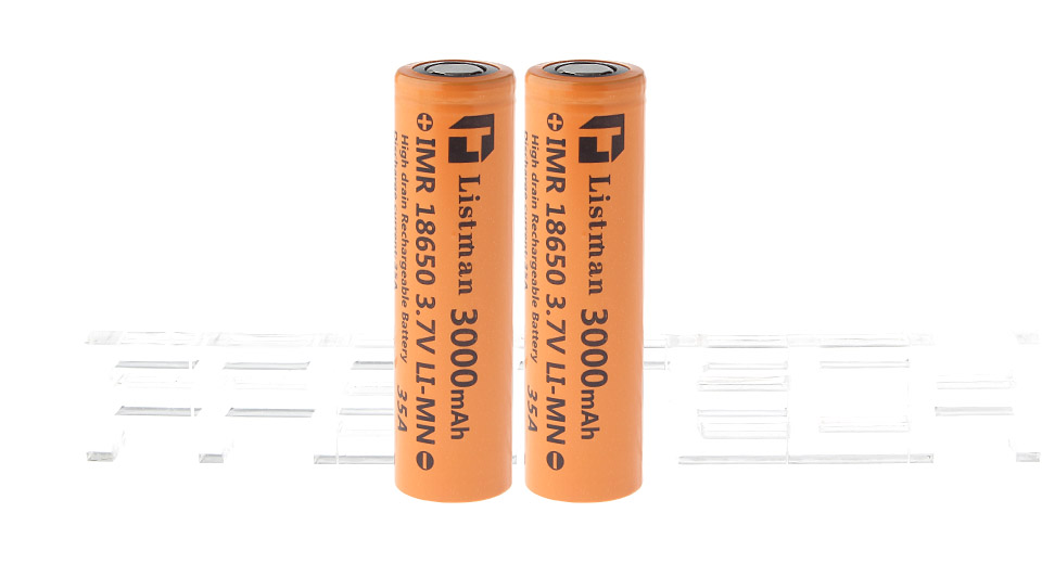 Product Image: authentic-listman-imr-18650-3-7v-3000mah