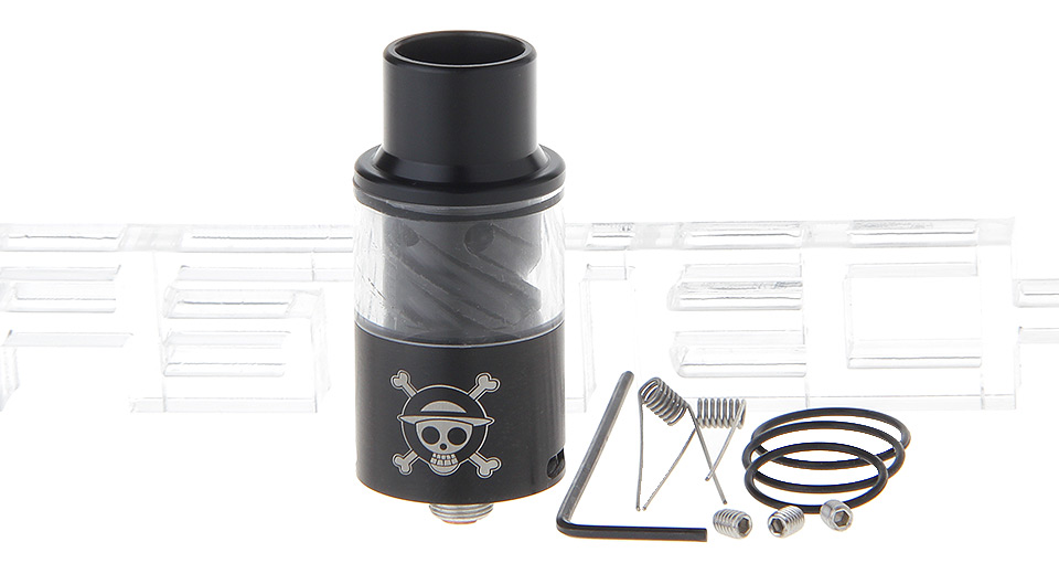 Pirate Flag Styled RDA Rebuildable Dripping Atomizer