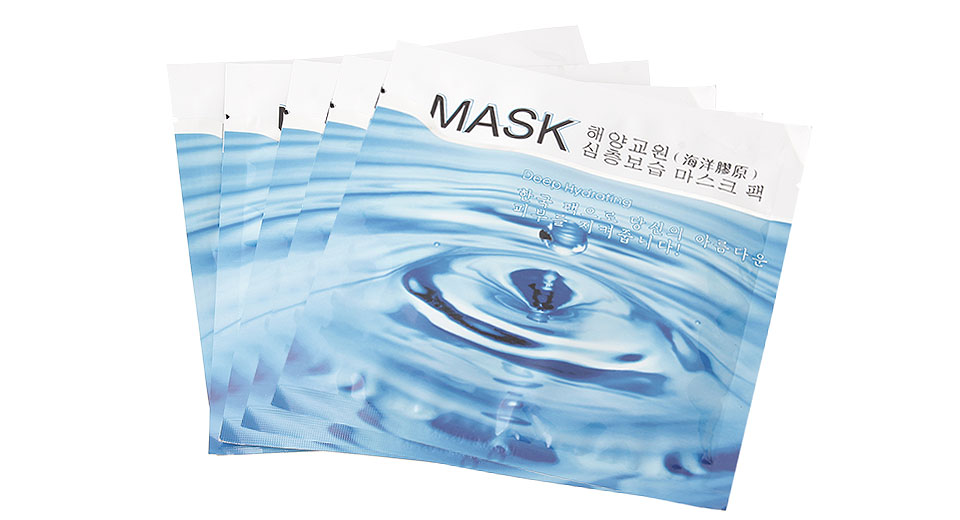 Deep Hydrating Facial Masks (5-Pack)