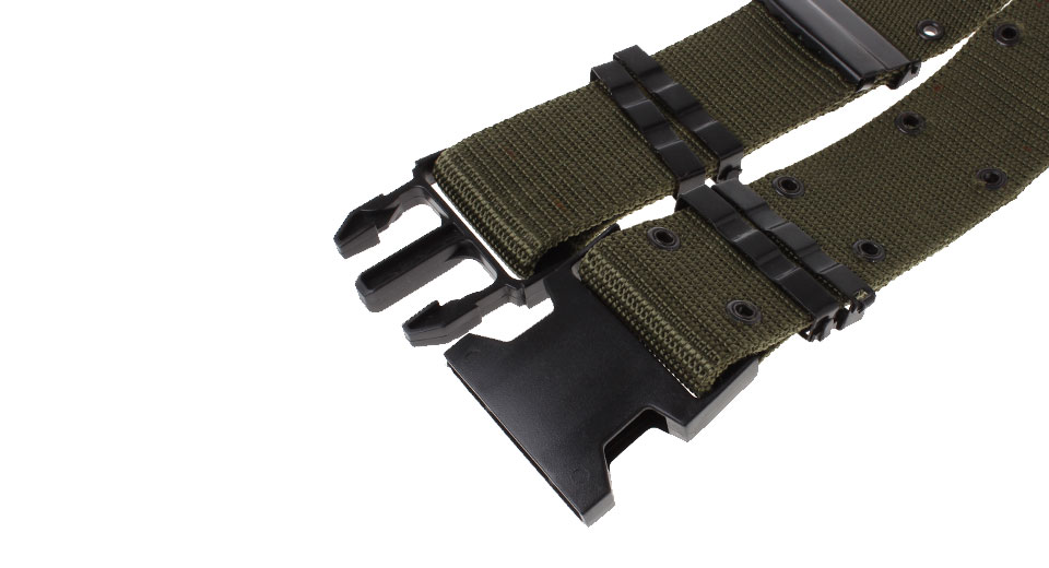 Outdoor Tactical Training Canvas Waist Belt