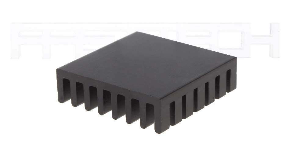 28*28*8mm Aluminum Heatsink (5-Pack)