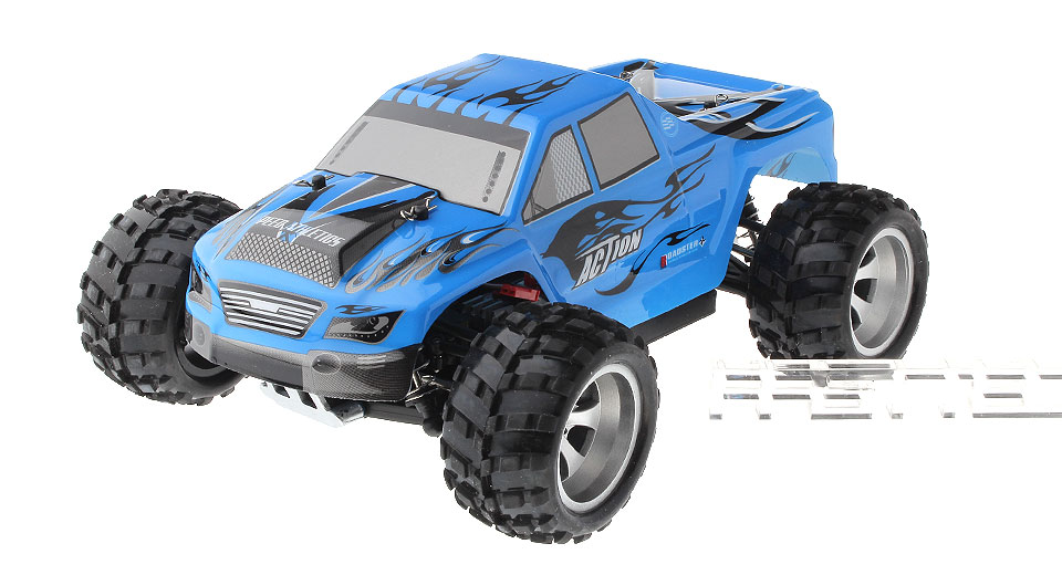 Authentic WLtoys A979 1:18 Scale 4CH 2 4GHz R/C Monster Truck