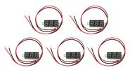 "0.28"" 3-Digit LED Voltmeter Module (5-Pack)"