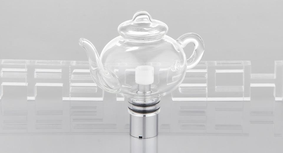 Product Image: teapot-shaped-e-solid-wax-glass-vaporizer