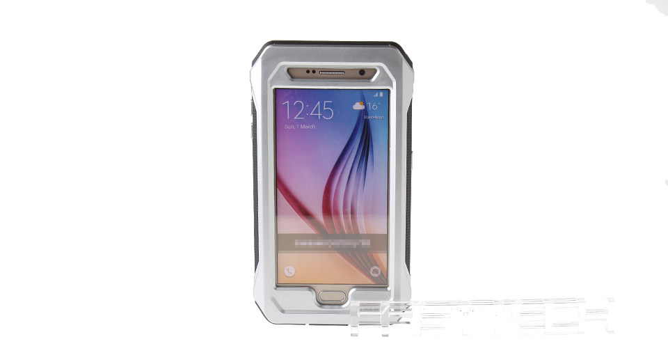 Waterproof Protective PC + TPE Case for Samsung Galaxy S6
