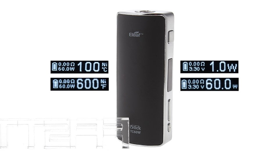 *SALE* Authentic Eleaf iStick 60W TC VW Variable Wattage APV Box Mod