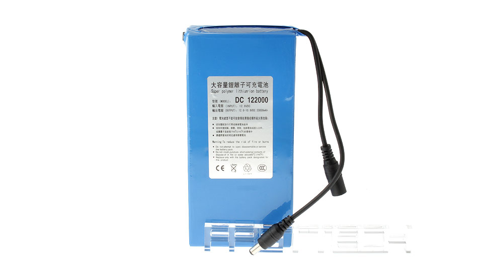 Product Image: 12v-20000mah-rechargeable-li-polymer-battery