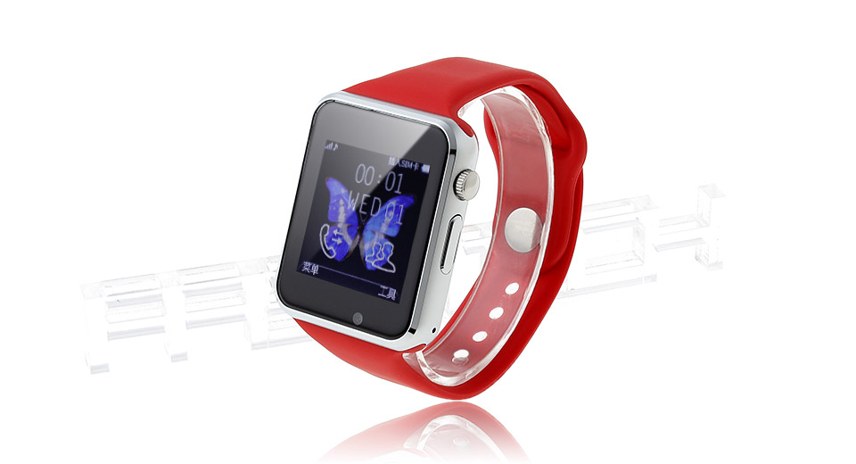 "A1 1.54"" IPS Touch Screen GSM Smart Watch Phone"