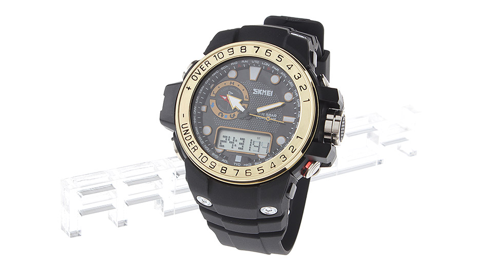 Authentic Skmei Analog + LED Digital Dual Mode Wrist Watch