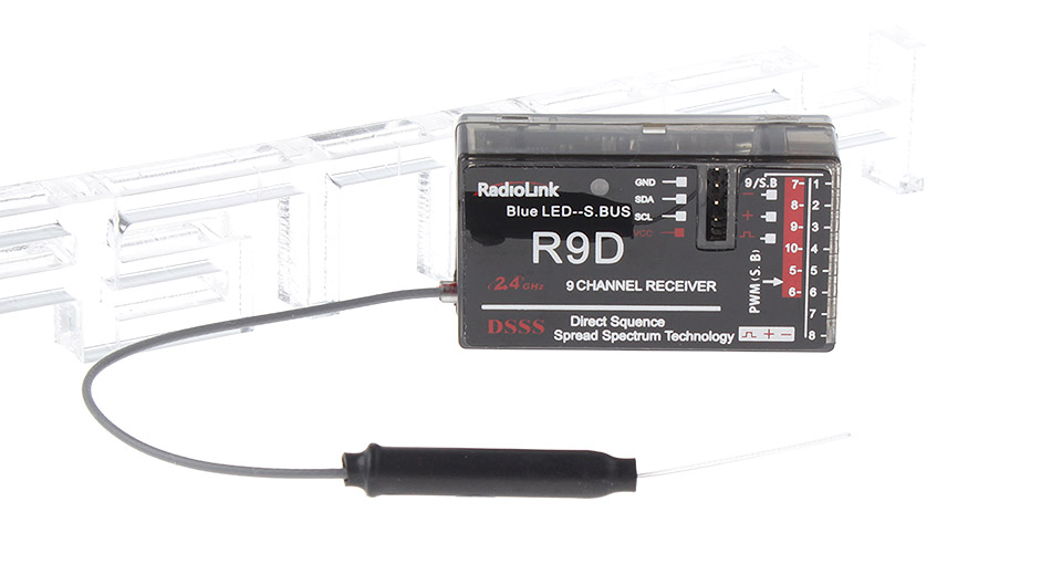 Product Image: raiolink-r9d-2-4g-9ch-dsss-receiver-for-at9-at10