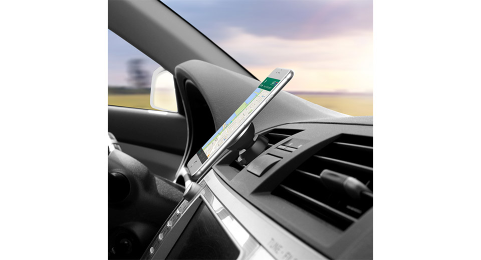 Authentic XJ Car Magnetic Air Vent Mount Holder for Cell Phone / GPS