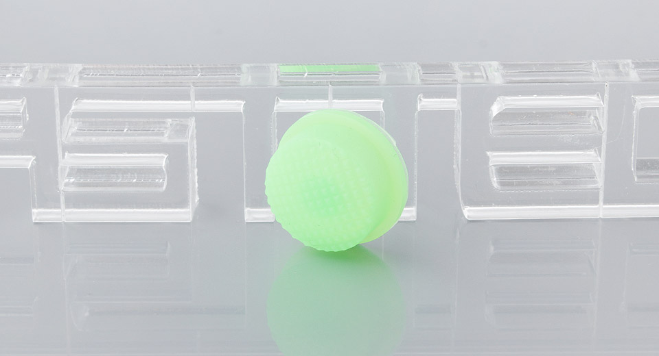 Glow-in-the Dark Tailcaps for LED Flashlight (10-Pack)