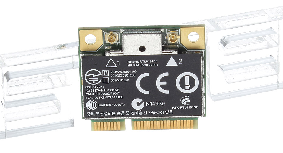 $3 85 Realtek RTL8191SE Wireless Hlaf Mini PCIe Card - 300Mbps / for HP  Notebooks at FastTech - Worldwide Free Shipping