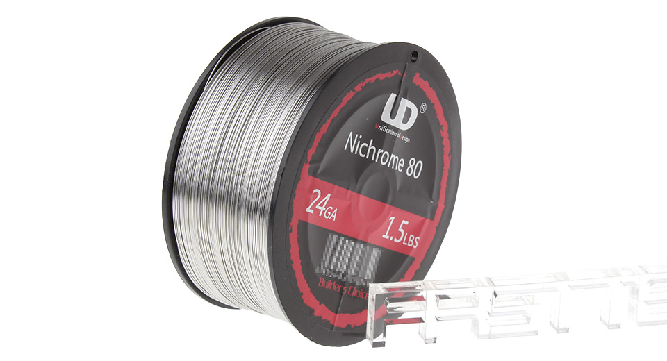 $71.25 Authentic UD Nichrome 80 Heating Wire for Rebuildable ...