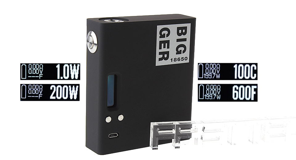 Product Image: authentic-vape-cige-bigger-200w-tc-vw-apv-box-mod