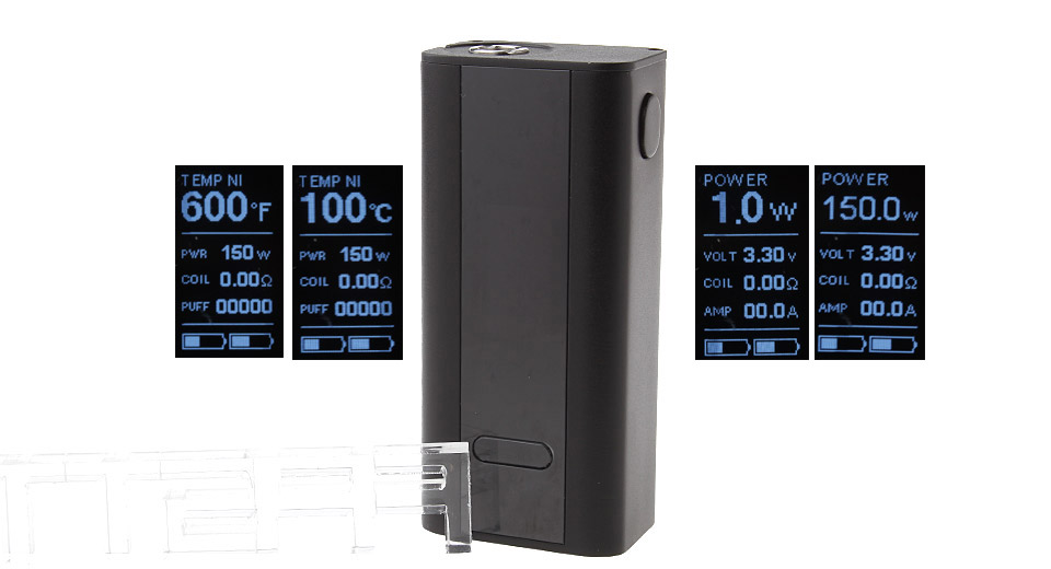 Product Image: authentic-joyetech-cuboid-150w-tc-vw-apv-box-mod