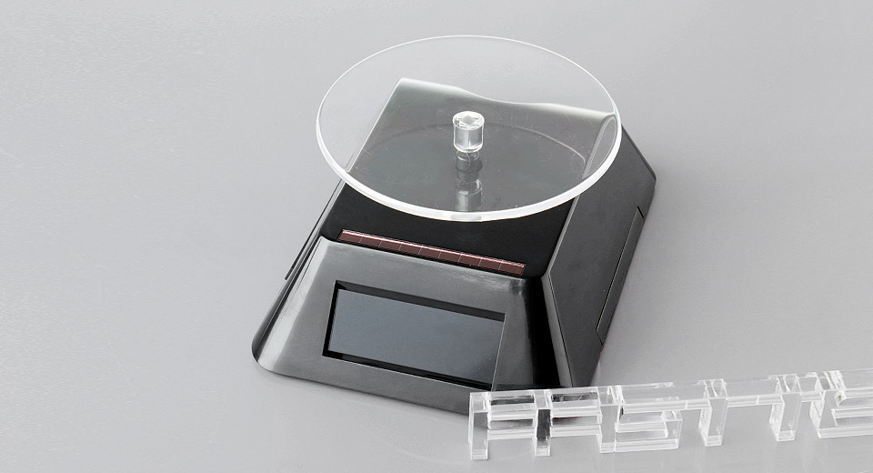 Product Image: 360-degree-rotating-solar-powered-display-stand