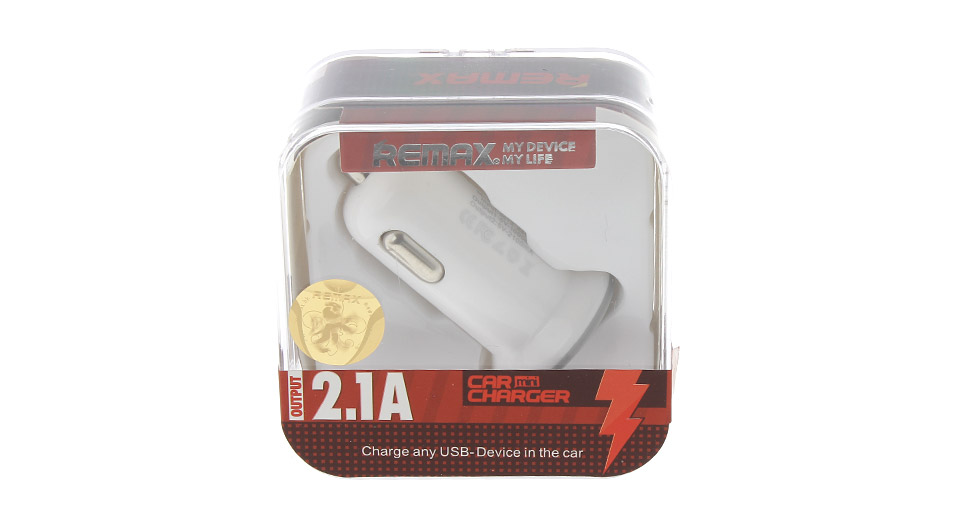 REMAX CC-201 MINI Dual USB Car Cigarette Charger Power Adapter