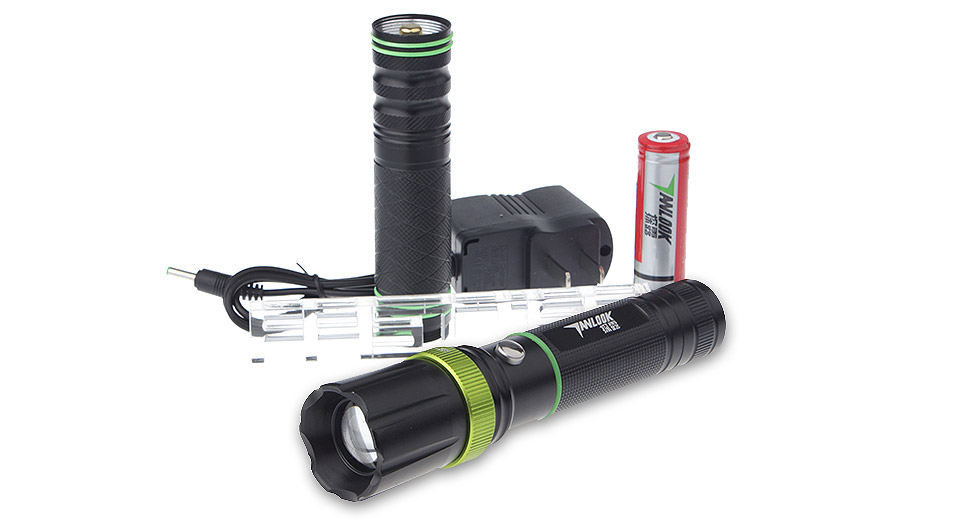 Product Image: tanlu-tl-d2-zooming-led-flashlight-gift-set