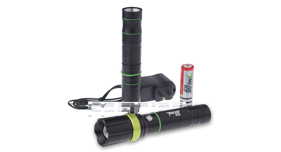 Product Image: tanlu-tl-d6-led-flashlight-gift-set-w-focus-zoom