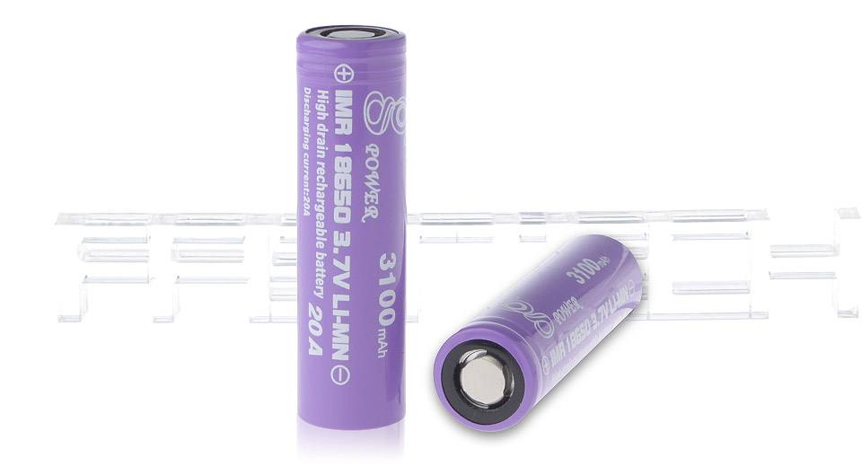 Product Image: gpower-imr-18350-3-7v-700mah-rechargeable-li-mn