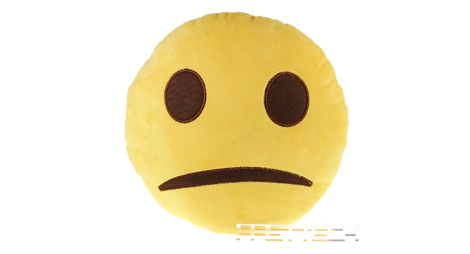 Round Emoji Cushion Pillow Stuffed Plush Toy