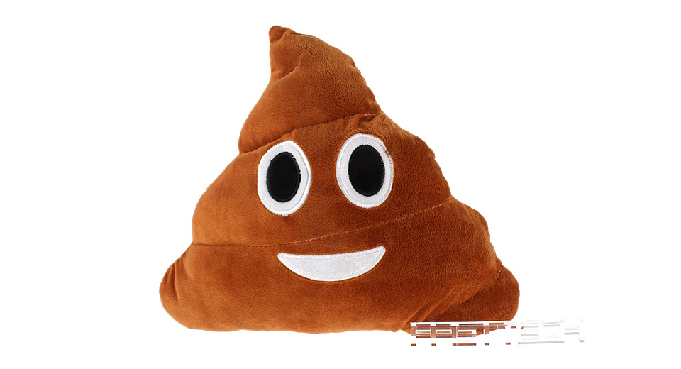 Product Image: poop-styled-emoji-cushion-pillow-stuffed-plush-toy