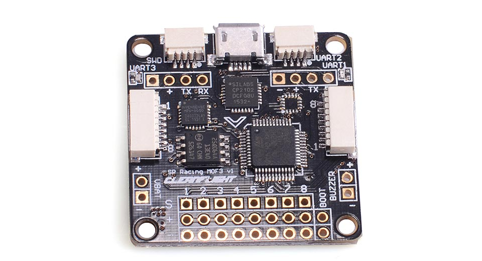 Product Image: f3-v2-0-integrated-flight-control-board