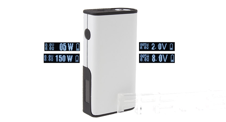 $26.28 Decimus Styled 150W VV VW APV Box Mod - 2-8V / 5-150W / 2*18650 at FastTech - Great Gadgets, Great Prices
