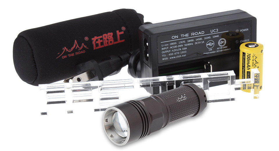 Product Image: on-the-road-i3-zooming-led-flashlight-gift-set