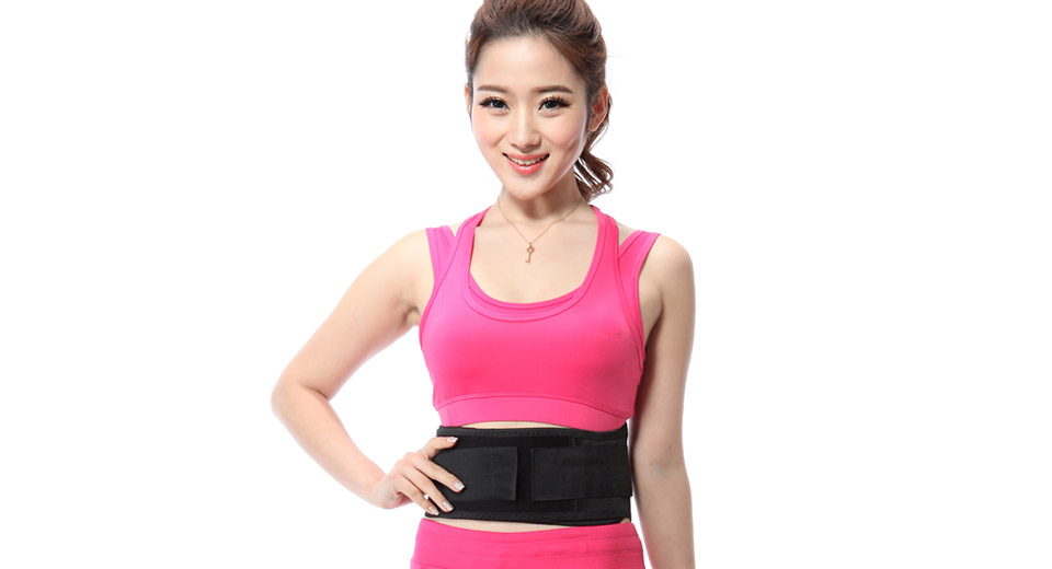 Tourmaline Magnetic Therapy Self-Heating Waist Brace Support Pad