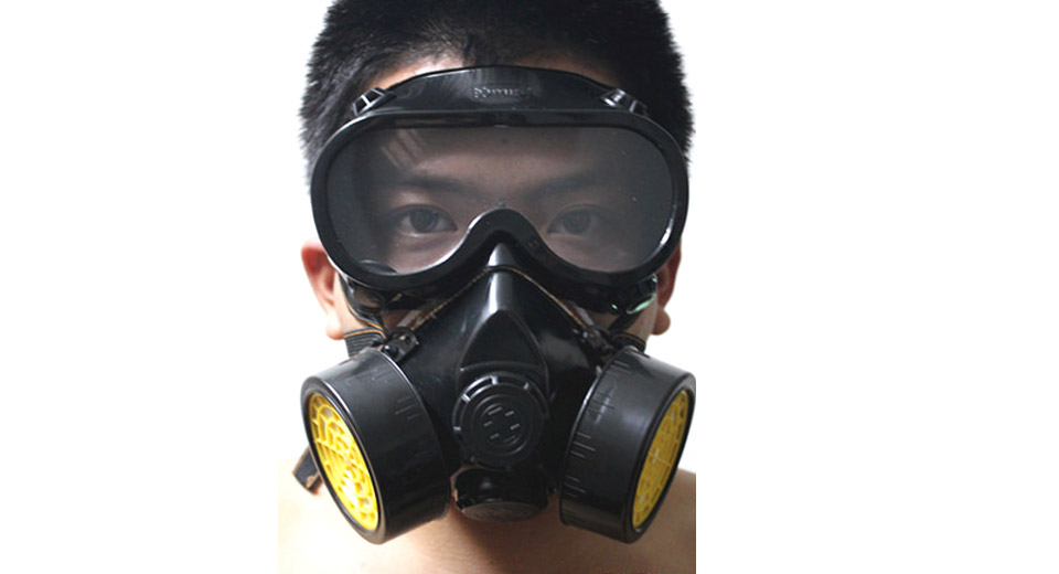 Industrial Gas Chemical Anti-Dust Respirator Mask