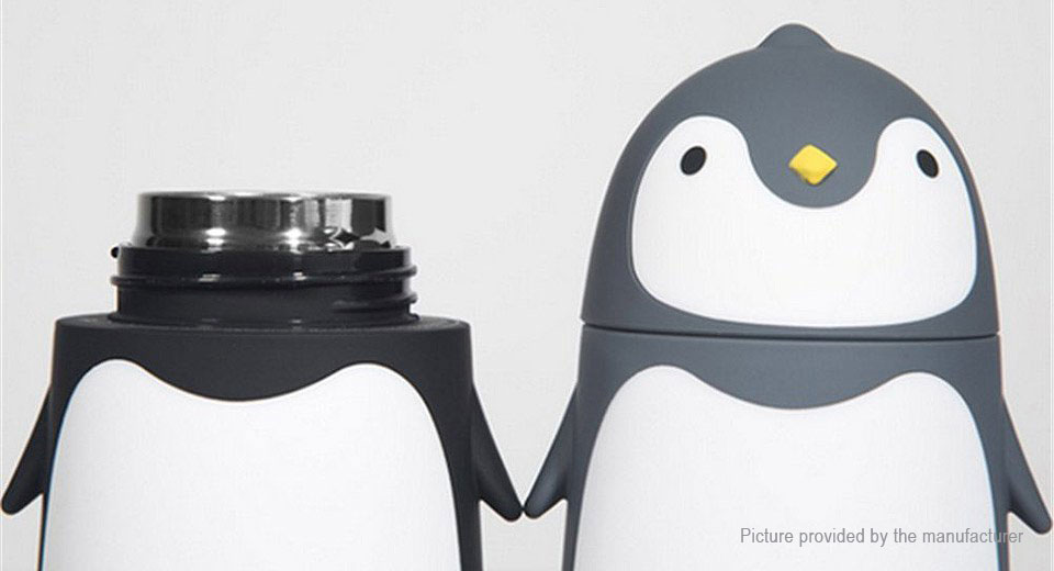 Penguin Styled Vacuum Cup (280ml)