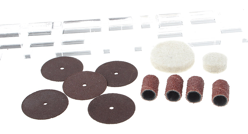 DCTOOLS Electric Grinding Accessories Kit (29 Pieces)