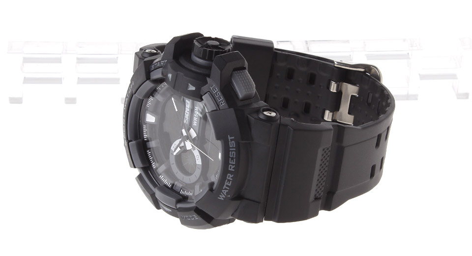 Skmei 1117 Men's Double Movt Sport Wrist Watch