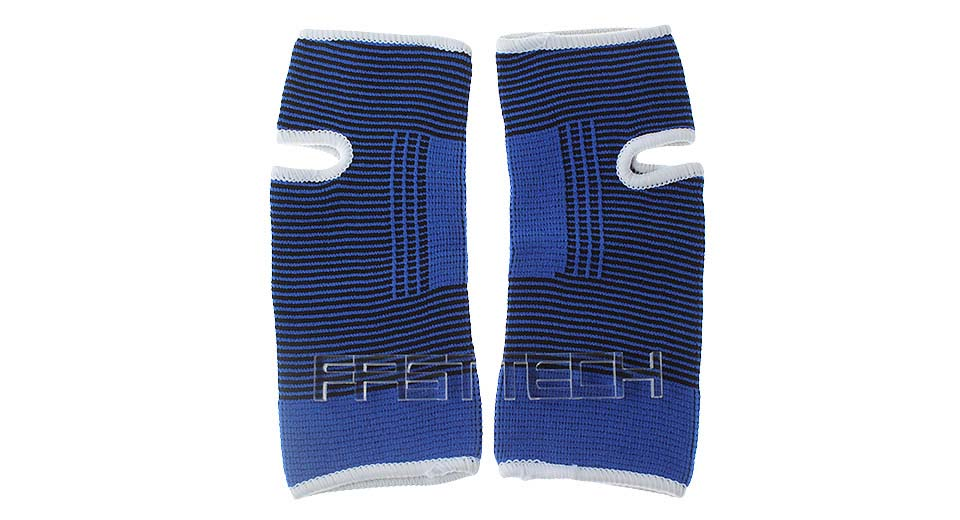 Unisex Flexible Sports Ankle Support Brace (Pair)