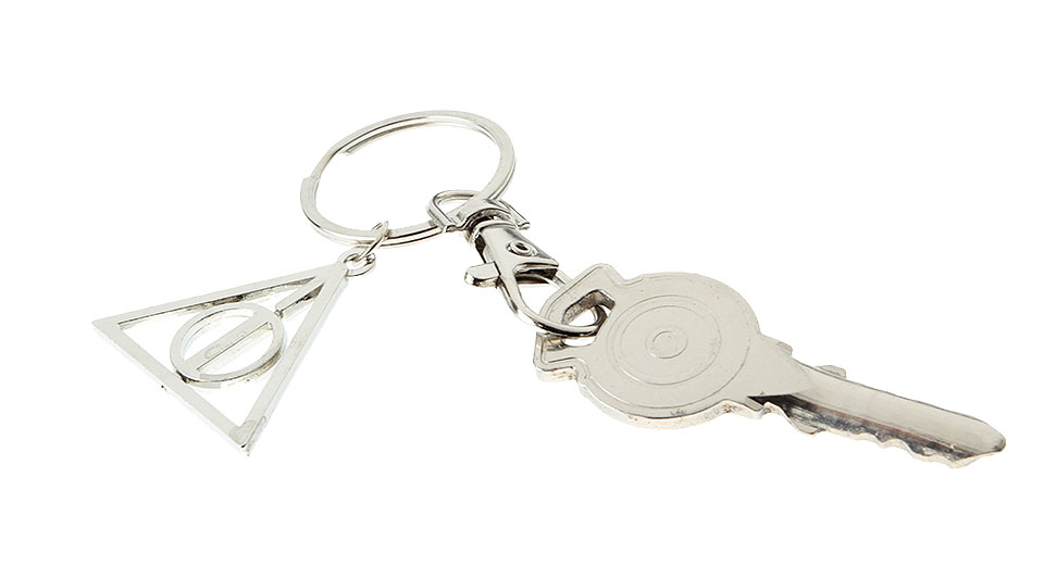 Harry Potter Book Keychain : Harry potter deathly hallows keychain at fasttech