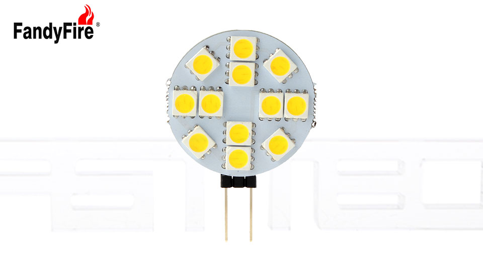 Product Image: authentic-fandyfire-g4-3w-12-5050-600lm-led-light
