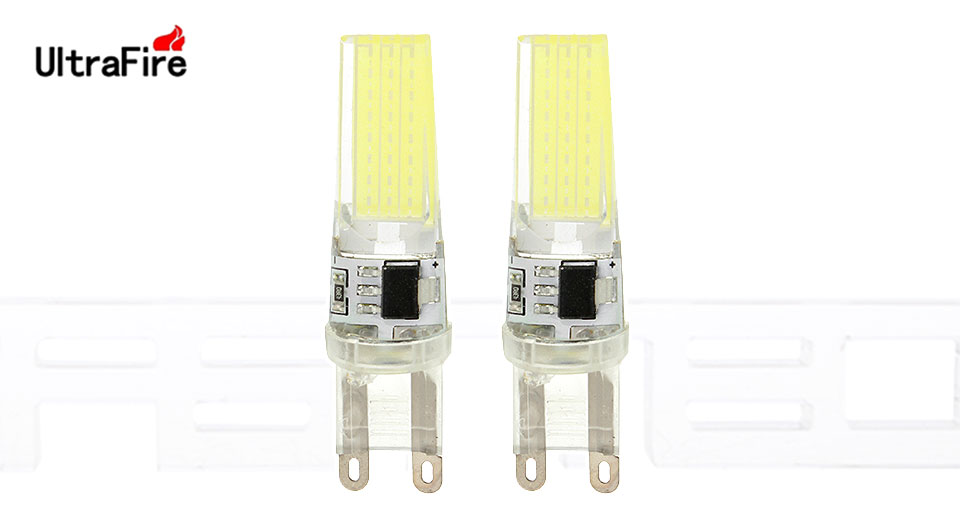 Product Image: ultrafire-g9-7w-1-cob-1000lm-led-light-bulb-2-pack