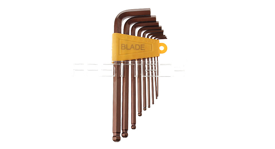 Product Image: blade-s2-hex-wrench-allen-key-set-9-pieces