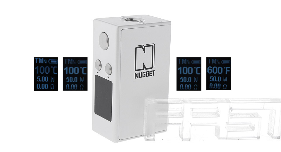 Product Image: authentic-artery-nugget-50w-1100mah-vv-vw-tc-apv