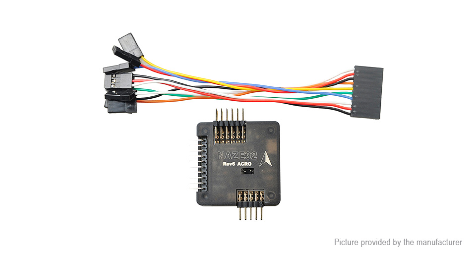 Product Image: naze32-rev6-acro-flight-controller-for-r-c