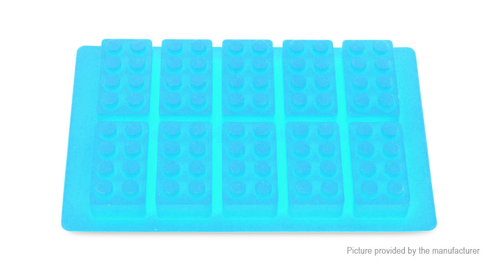 Building Blocks Styled Diy Ice Mold Food Grade