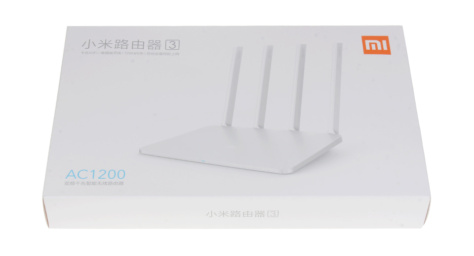 תוספת $31.71 Authentic Xiaomi Mi Wifi Router 3 (Chinese Version LE-34