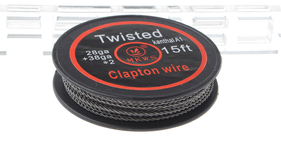 Authentic MKWS Kanthal A1 Twisted Clapton Resistance Wire for RBA Atomizers