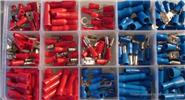 Insulated Bullet Butt Ring Spade Crimp Connector Terminal Set (200 Pieces)