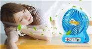 USB / Battery Powered 3-Speed Mini Cooling Fan