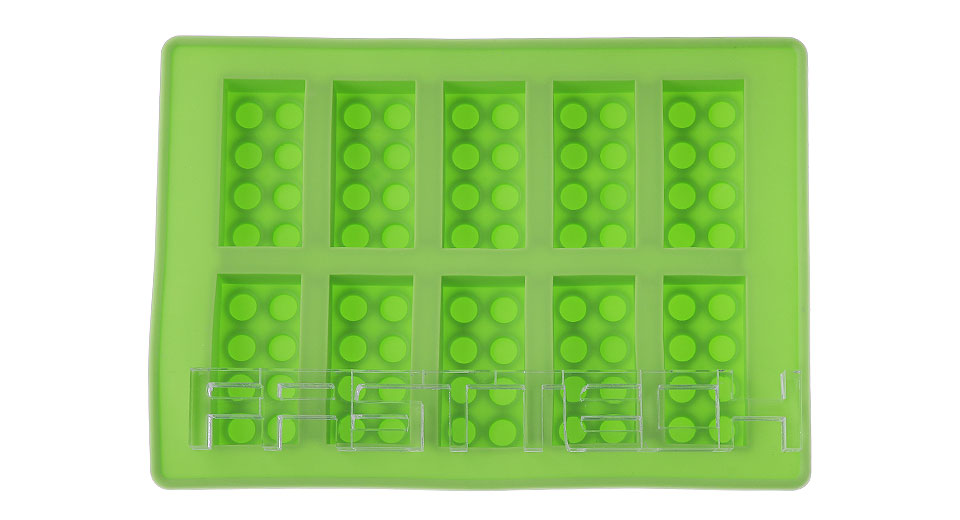 Building Blocks Styled Diy Ice Mold 10 Grids At