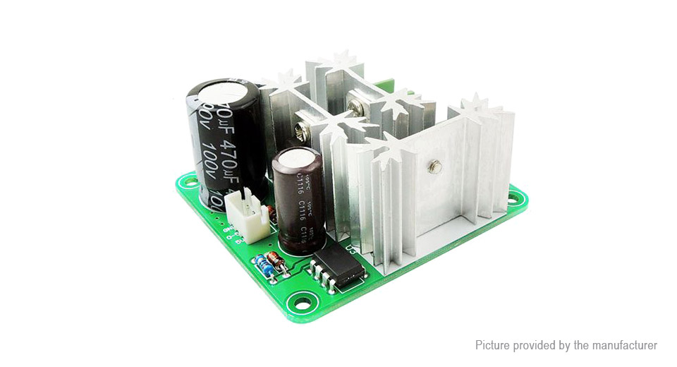 $4.56 6-90V 15A PWM Controller DC Motor Speed Controller - PLC ...
